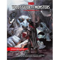 D&D Suppl. Volos Guide to Monsters Dungeons & Dragons Supplement