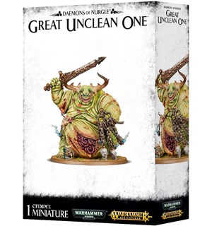 Daemons of Nurgle Great Unclean One Warhammer 40/Age of Sigmar