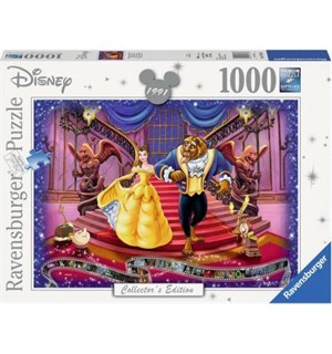 Disney Beauty and the Beast 1000 biter Ravensburger Puzzle Puslespill