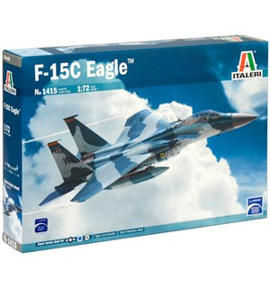 F-15C Eagle Italeri 1:72 Byggesett