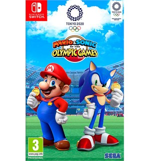 Mario & Sonic Olympic Games 2020 Switch