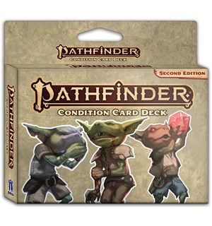 Pathfinder 2nd Ed Cards Conditions Second Edition RPG - 110 kort