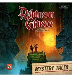Robinson Crusoe Mystery Tales Expansion Utvidelse til Robinson Crusoe
