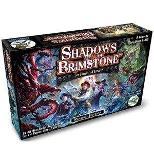 Shadows of Brimstone Swamps of Death Brettspill - Revised Edition
