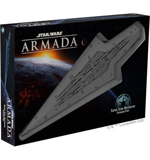 Star Wars Armada Super Star Destroyer Utvidelse til Star Wars Armada