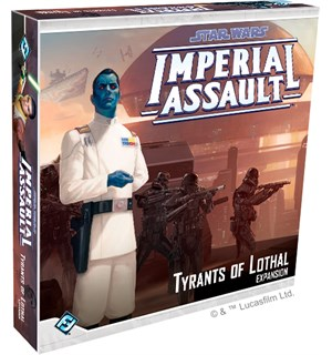 Star Wars IA Tyrants of Lothal Expansion Utvidelse til Star Wars Imperial Assault