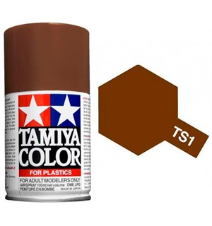 Tamiya Airspray TS-1 Red Brown Tamiya 85001 - 100ml