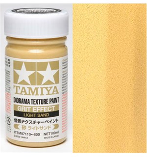 Tamiya Texture Paint - Light Sand 100ml Grit Effect