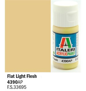 Akrylmaling Flat Light Flesh Italeri 4390AP - 20 ml