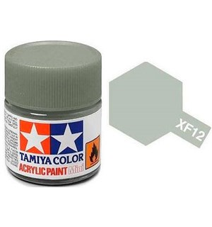 Akrylmaling MINI XF-12 JN Grey Tamiya 81712 - 10ml