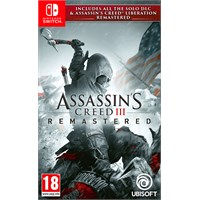 Assassins Creed 3 Remastered Switch Inkl alt solo DLC + Liberation
