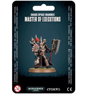 Chaos Space Marines Master of Executions Warhammer 40K