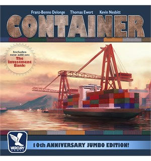 Container 10th Anniversary Brettspill Jumbo Edition