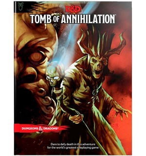 D&D Adventure Tomb of Annihilation Dungeons & Dragons Scenario Level 1-11