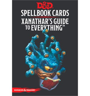 D&D Cards Spellbook Xanathars Guide to E Dungeons & Dragons - 95 kort