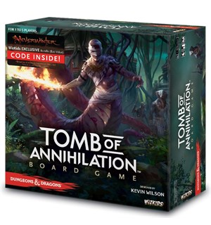 D&D Tomb of Annihilation Brettspill Dungeons & Dragons Adventure System
