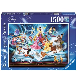 Disney Magical Storybook 1500 biter Ravensburger Puslespill