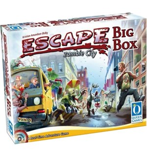 Escape Zombie City Big Box Brettspill