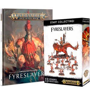 Fyreslayers Start Collection Warhammer Age of Sigmar