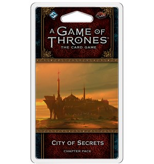 Game of Thrones TCG City of Secrets Exp Utvidelse til Game of Thrones Card Game