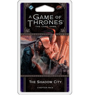 Game of Thrones TCG Shadow City Exp Utvidelse til Game of Thrones Card Game