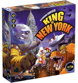 King of New York Brettspill - Norsk Kongen av New York
