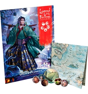 Legend of the 5 Rings RPG Winters Embrac Legend of the Five Rings