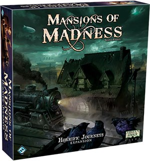 Mansions of Madness Horrific Journey Exp Utvidelse til Mansions of Madness