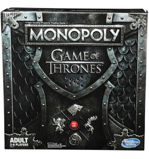 Monopoly Game of Thrones Brettspill 2019 utgave