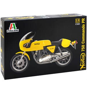 Norton 750 Commando PR Italeri 1:9 Byggesett