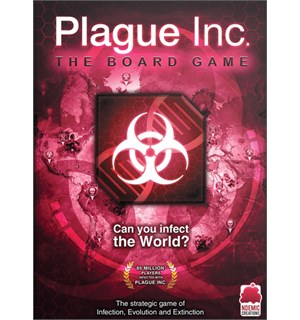 Plague Inc The Board Game Brettspill