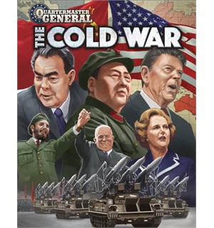 Quartermaster General The Cold War Brettspill
