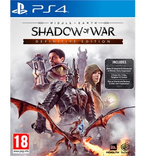 Shadow of War Definitive Edition PS4 Middle-Earth GOTY Edition