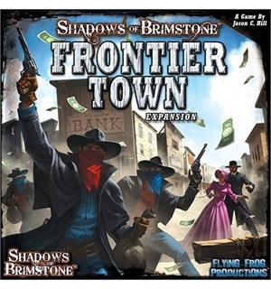 Shadows of Brimstone Frontier Town Exp Utvidelse til Shadows of Brimstone