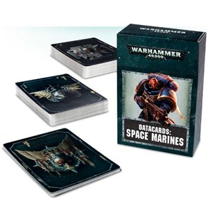Space Marines Datacards 2017 Edition Warhammer 40K