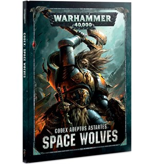 Space Wolves Codex Warhammer 40K