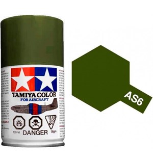 Tamiya Airspray AS-6 Olive Drab USAAF Tamiya 86506 - 100ml
