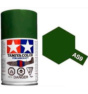 Tamiya Airspray AS-9 Dark Green RAF Tamiya 86509 - 100ml