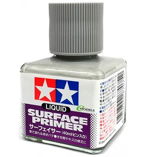 Tamiya Liquid Surface Primer - 40ml