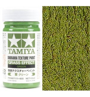 Tamiya Texture Paint - Green 100ml Grass Effect