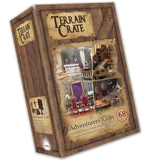 Terrain Crate Adventurers Crate Fra Mantic Games - 68 deler