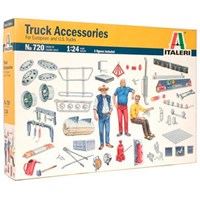 Truck Accessories 203 deler No: 720 Italeri 1:24 Byggesett