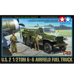 US 2 1/2ton 6x6 Airfield Fuel Truck Tamiya 1:48 Byggesett
