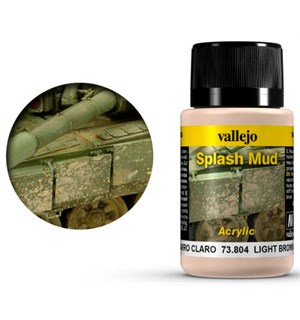 Vallejo Mud Splash Mud Light Brown 40ml