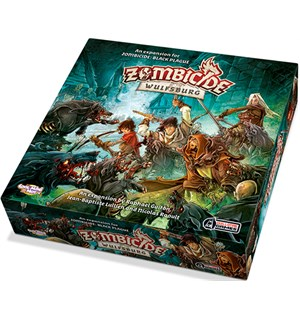 Zombicide Black Plague Wulfsburg Exp Utvidelse til Zombicide Black Plague