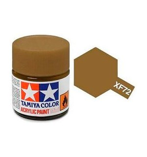 Akrylmaling MINI XF-72 Brown Tamiya 81772 - 10ml