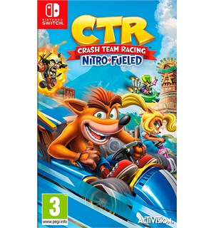 CTR NitroFueled Switch Crash Team Racing