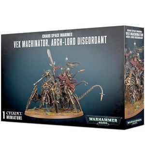 Chaos Space Marines Vex Machinator Warhammer 40K Arch-Lord Discordant