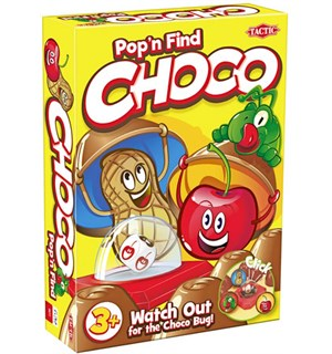 Choco Pop'n Find Brettspill - Norsk