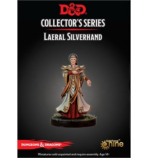 D&D Figur Coll. Series Laeral Silverhand Dungeons & Dragons Collectors Series